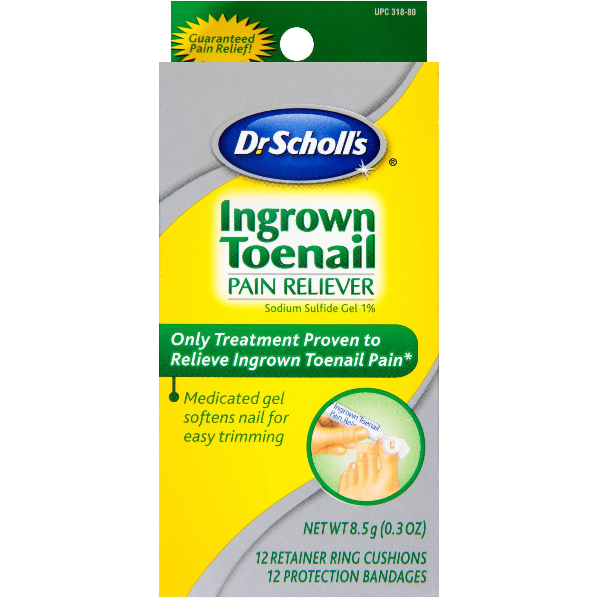 Dr. Scholl's Ingrown Toenail Pain Reliever, 0.3 oz