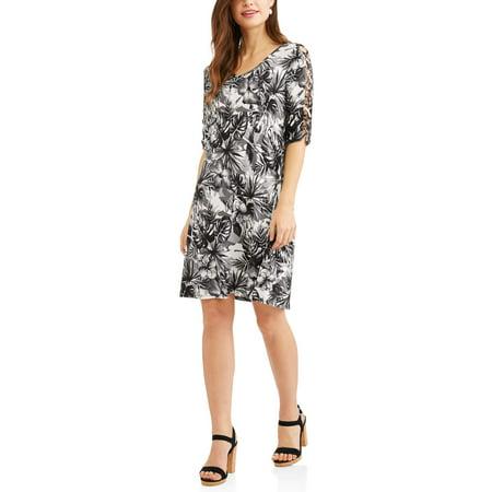 Women's Cut Out Detail Dress