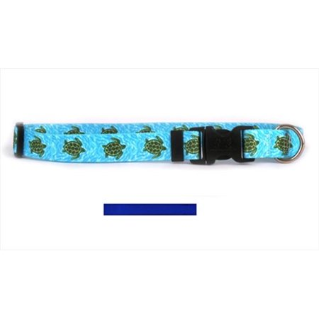 Yellow Dog Design Rbl100c Solid Royal Blue Standard Collar   Cat