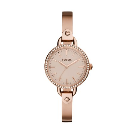 Fossil Skeleton Watch (Fossil Women's Classic Minute Rose Gold Tone Stainless Steel Watch (Style: BQ3163) )