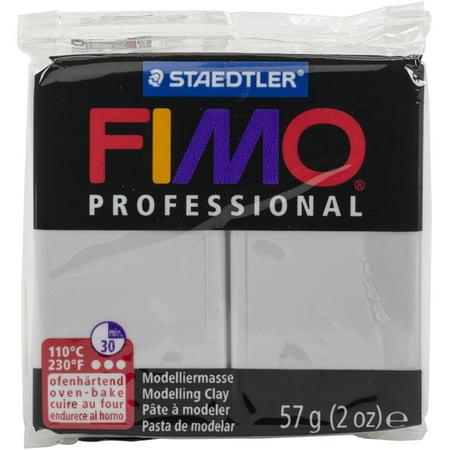Fimo Professional Soft Polymer Clay 2oz-Dolphin Grey