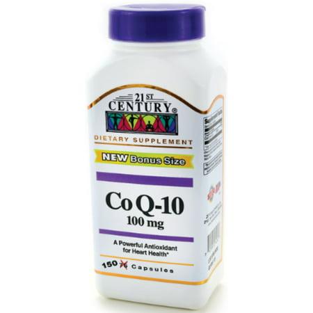 Image of 21st Century CoQ10 100 mg Softgels 150 ea