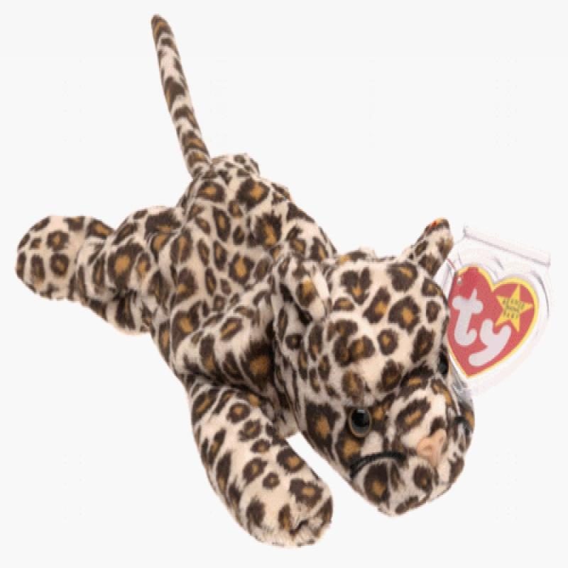 TY Beanie Baby - FRECKLES the Leopard (8.5 inch)