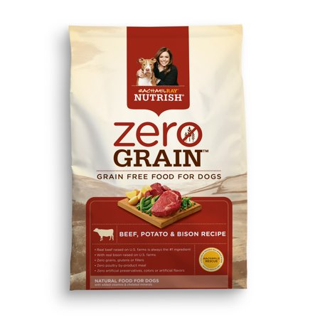 Rachael Ray Zero Grain Beef And Bison Recipe Dry Food For Dogs  11 Lb