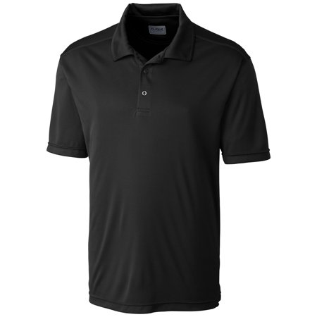 Men 39 S Moisture Wicking Three Button Parma Polo Shirt
