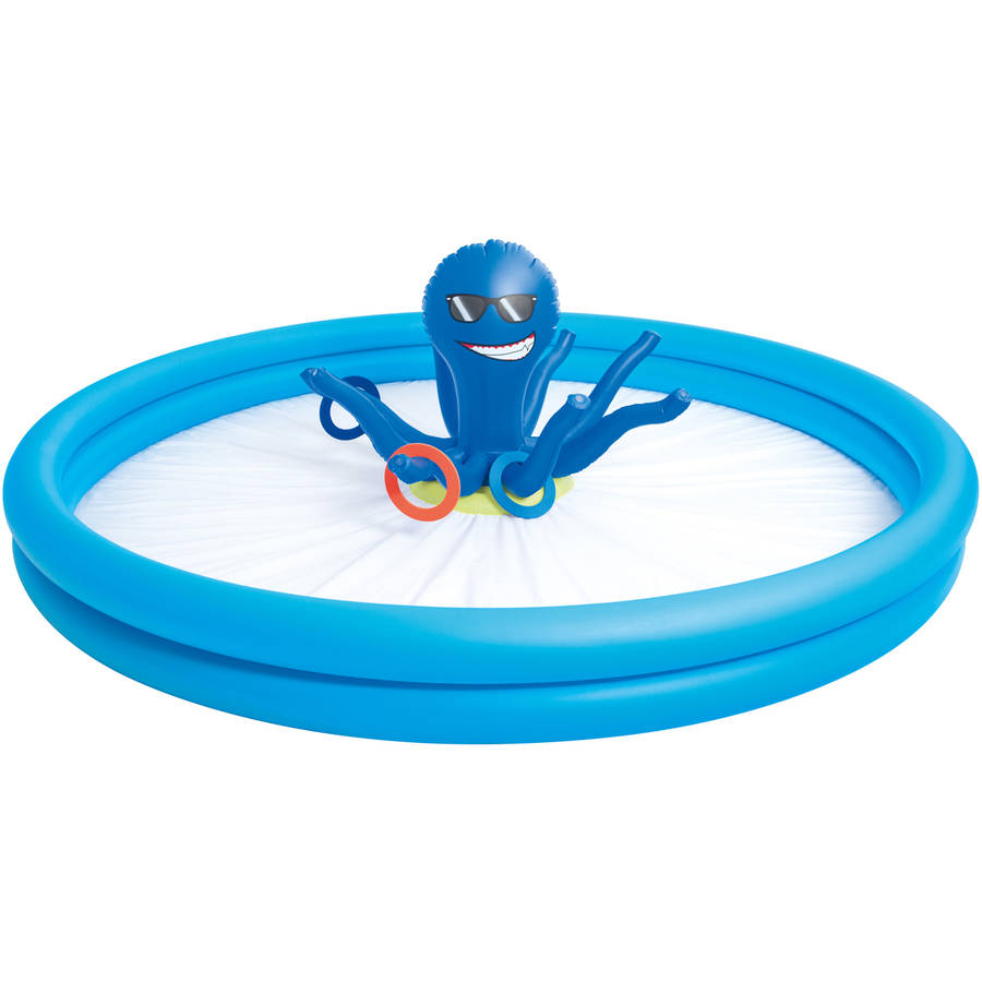 "H2OGO! 10.4' x 37"" Octo Spray N Splash Pool"