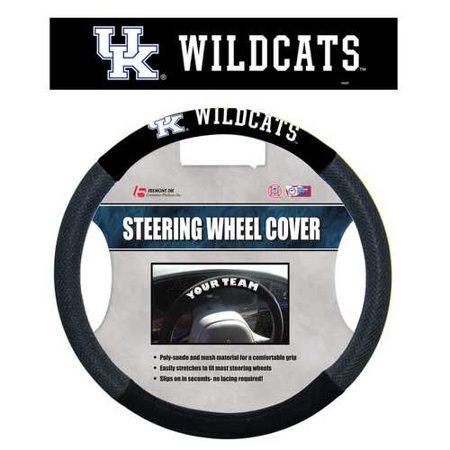 - NCAA Kentucky Wildcats Poly-Suede Steering Wheel Cover