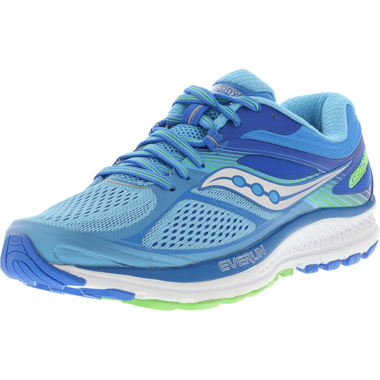 Saucony Women's Guide 10 Light Blue   Ankle-High Running Shoe 7W by Saucony