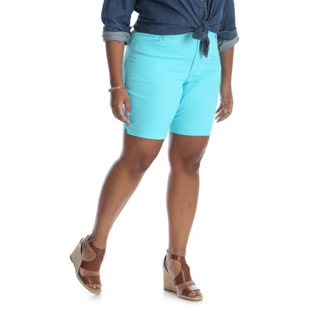Women's Plus Simply Comfort Stretch Twill Short