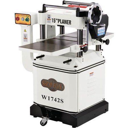 Shop Fox W1742S 15-inch Planer With Spiral (Roughing Spiral Planer)