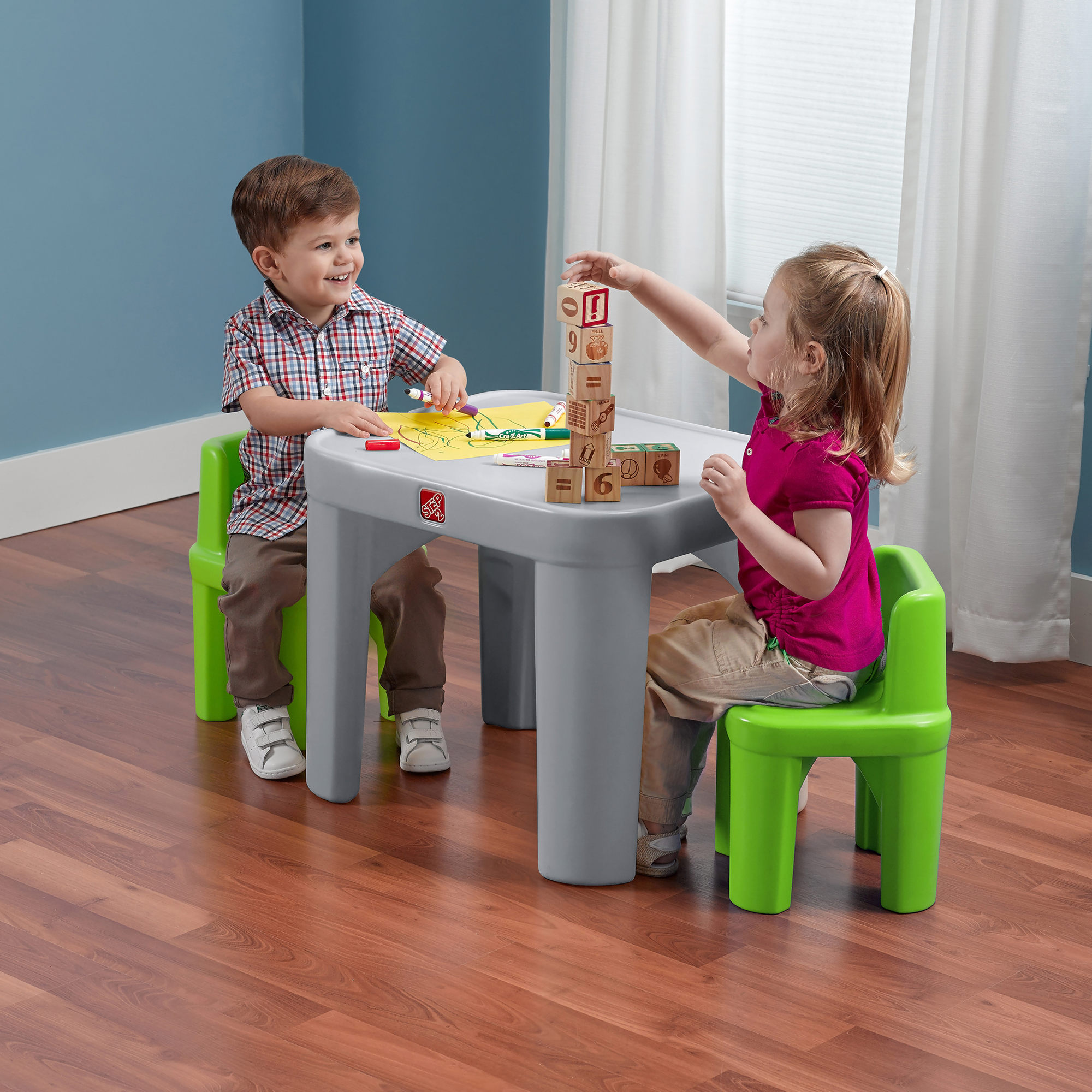 Step2 Mighty My Size Table and Chairs Set kids chairs Wholesale
