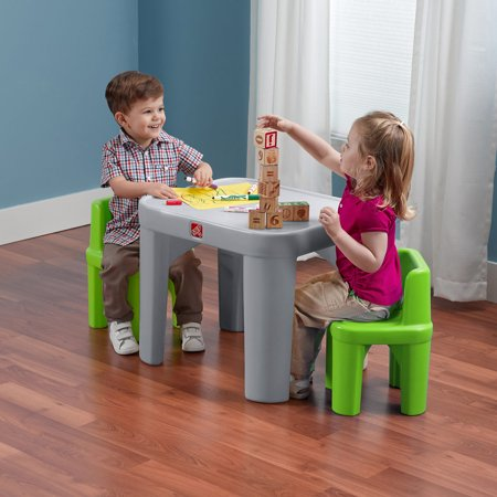 Step2 Mighty My Size Table and Chairs Set (kids chairs - Wholesale Price