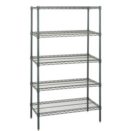 Wire Shelving 5-Shelf Starter Units - Proform, 21 x 48 x 74 in. - Proform