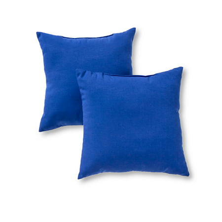 Greendale Home Fashions Outdoor Accent Pillow, Set of 2](Outdoor Pillow Set)