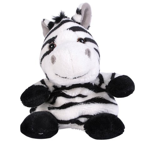 Zebra Bean Filled Plush Stuffed Animal, Sold By The Each By WEEZ (Stuffed Zebra)