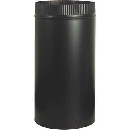 Imperial Manufacturing Group Bm0102 Stove Pipe Blk 6X12