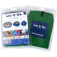 "Lay-n-Go LITE (18"") : Green, Activity Play Mat, Toy Storage"