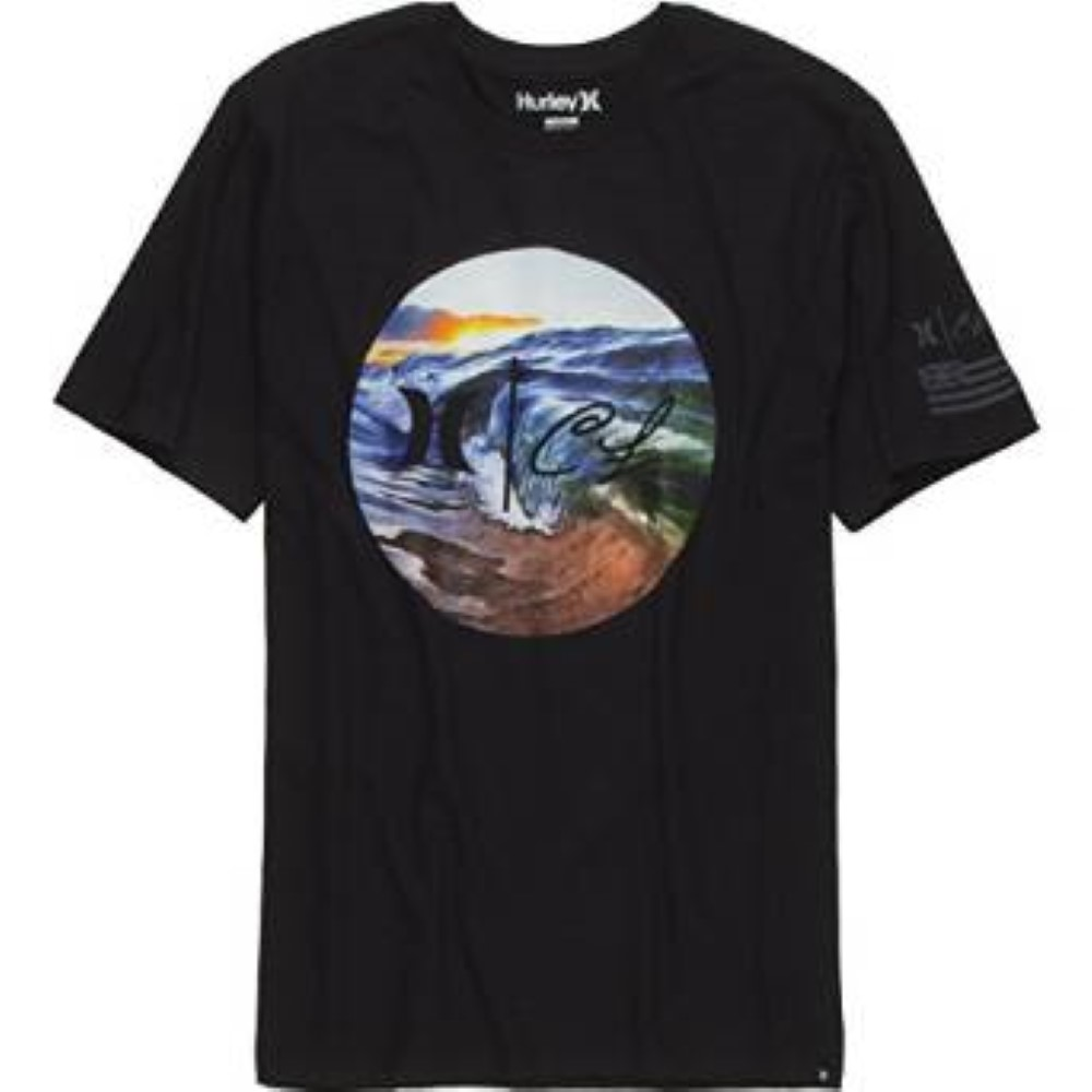 Hurley Mens Clark Little Rise Premium Short Sleeve MTS0019760