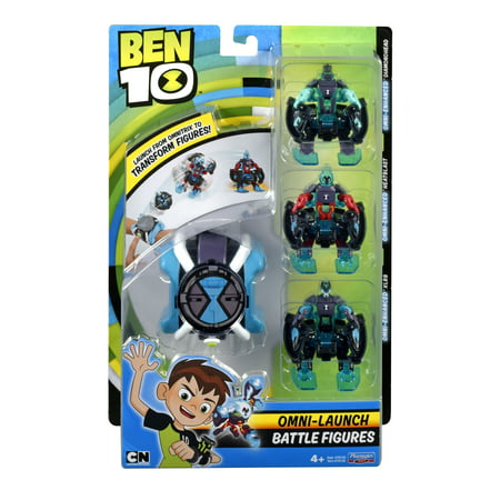 Ben 10 Omni Launch Omni Enhanced Heatblast, Diamondhead &