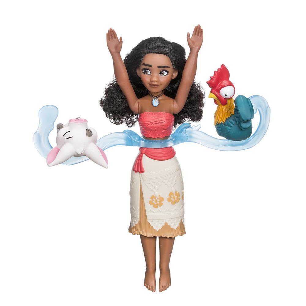 Disney Moana Spin and Swim, Doll and Friends Water Play
