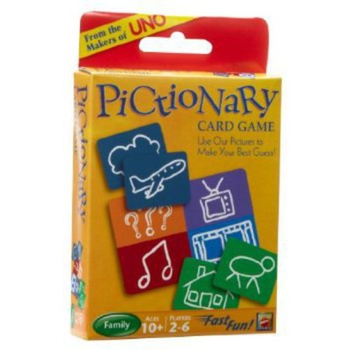 UNO Pictionary Card Game