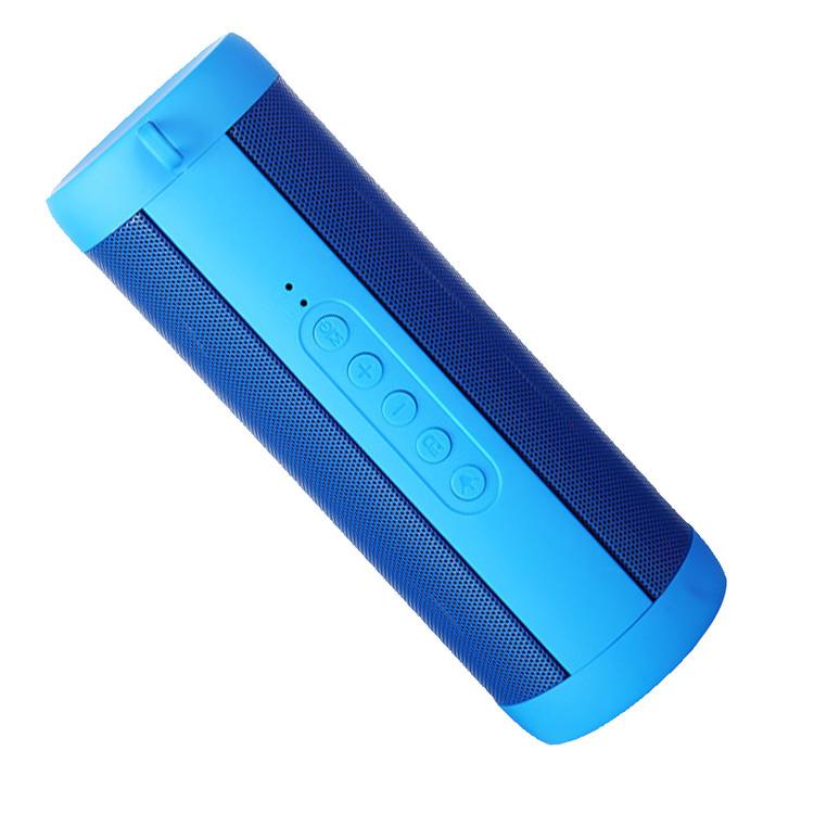 VicTsing Professional Waterproof Outdoor HIFI Column Speaker Wireless Bluetooth Speaker Subwoofer Sound Box with Flashlight Support FM Radio TF Mp3 Player Mobile Phone(Black)