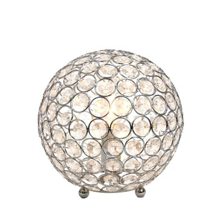 All The RagesLT1026-CHR Crystal Ball Table Lamp - image 2 of 4