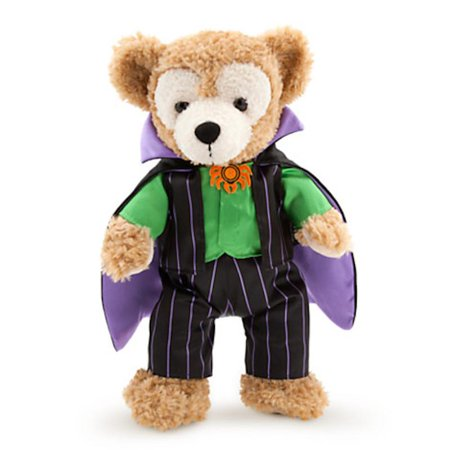 disney parks halloween 2015 disney bear vampire duffy costume 17'  plush new
