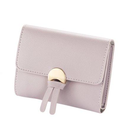 Women PU Leather Coin Mini Wallet Card Holder Tassel Purse Clutch Handbag - Leather Tassels
