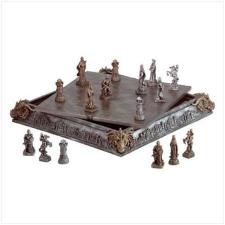 C. Alan 35301 Medieval Chess Set (Medieval Chess Set)