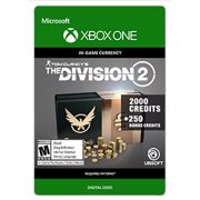 TOM CLANCY'S THE DIVISION® 2 – 2250 PREMIUM CREDITS PACK, Ubisoft, Xbox, [Digital Download]