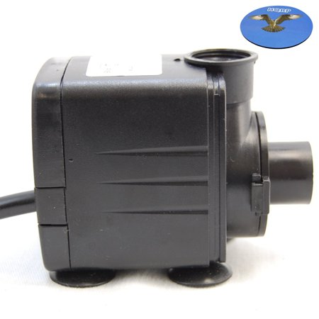 Hqrp Submersible Water Pump For Fountain Waterfall Lamp