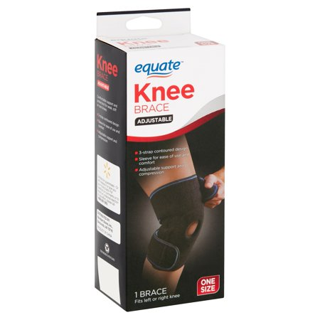 Protec Athletics Knee Brace (Equate Adjustable Knee Brace, One Size )