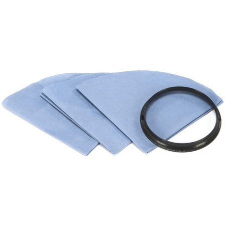 - Reusable Paper Disc Filter, 901-07 (3), Must be used in combination with a 905-85 Foam Sleeve By ShopVac