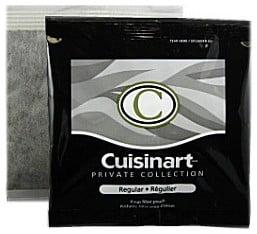 Cuisinart 4 Cup Reg Coffee Bags - Quantity 10