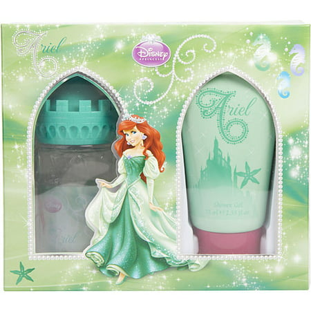 LITTLE MERMAID by Disney - EDT SPRAY 1.7 OZ (CASTLE PACKAGING) & SHOWER GEL 2.5 OZ - WOMEN