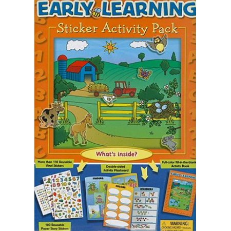 (Early Learning Sticker Activity Pack)