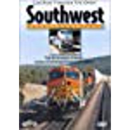 Train Cab Ride Through the Great Southwest, 5 Disc