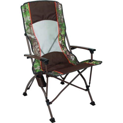 Ozark Trail x Realtree Xtra pro Guide Folding Quad Camp Chair