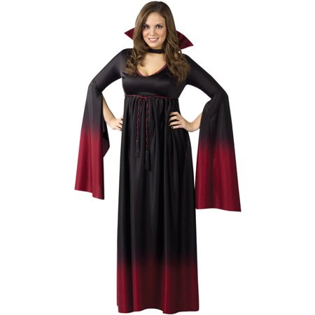 Blood Vampiress Adult Plus Halloween Costume, Size: 16W-20W - One Size - Vampiress Costume Ideas