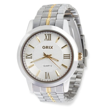 Concord Stainless Steel Wrist Watch - Watches For Men By ORIX Luxury Stainless Steel Hand Wrist Watch for Guys