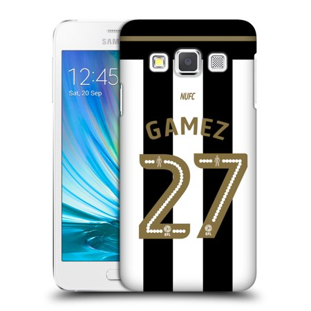 OFFICIAL NEWCASTLE UNITED FC NUFC 2016/17 PLAYERS HOME KIT 1 HARD BACK CASE FOR SAMSUNG PHONES 1