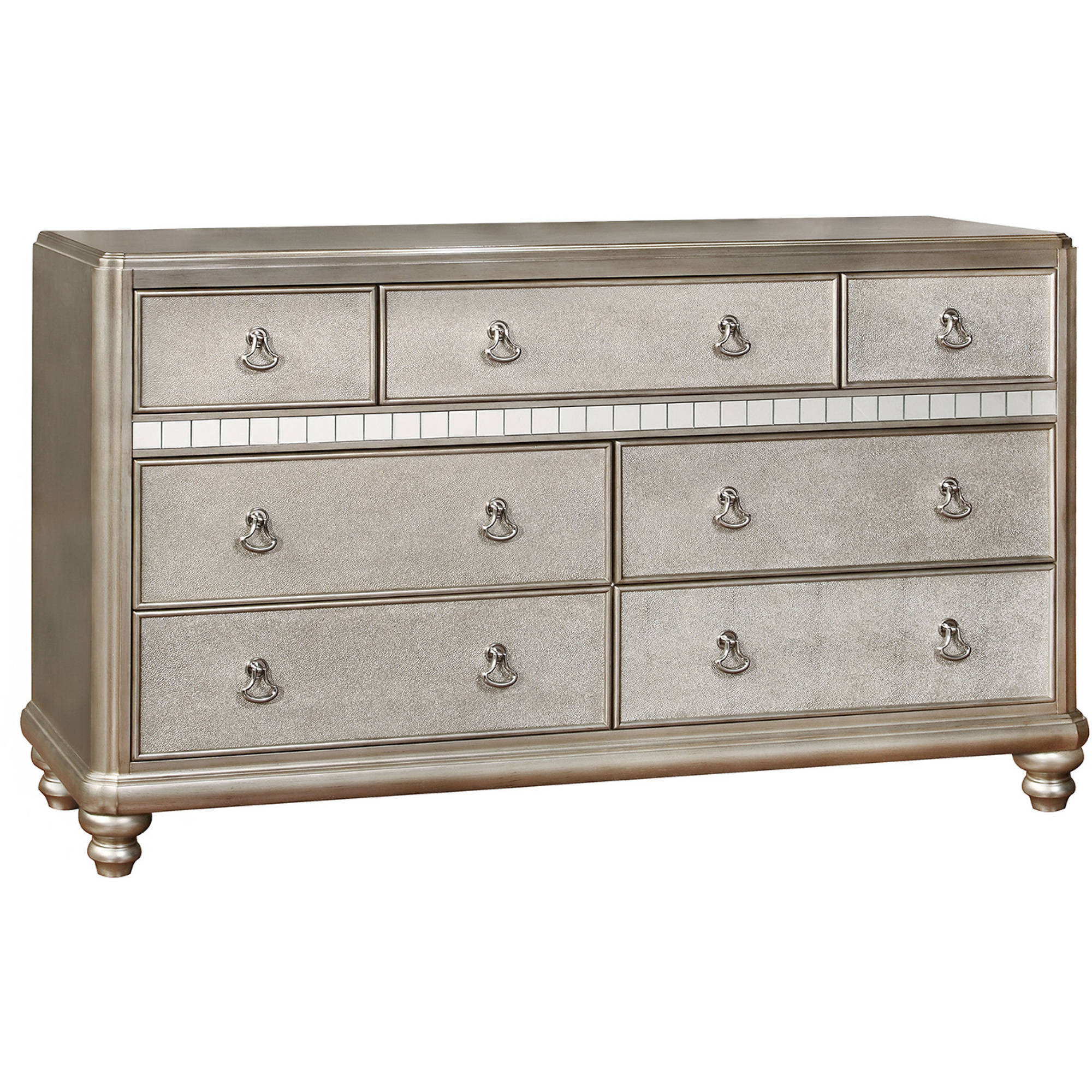 Coaster Company Bling Game Dresser, Platinum