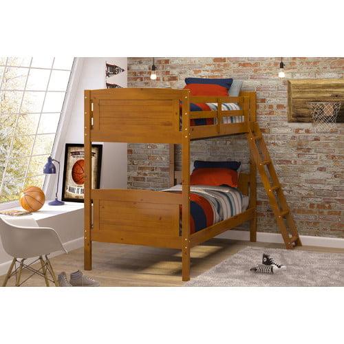Chelsea Home Furniture Twin Bunk Bed Walmart Com