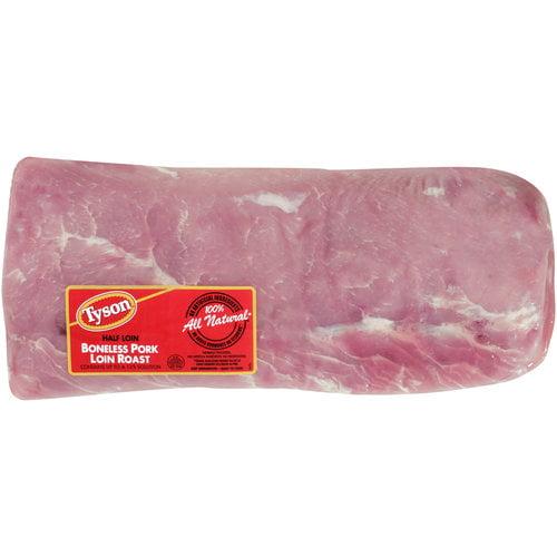 Tyson Half Loin Boneless Pork Roast, 3.5 - 5 lbs