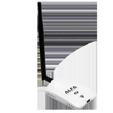 Alfa AWUS036NHR 802 11n Wi-Fi USB Adapter & 5 dBi Antenna