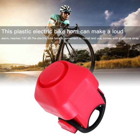 Bike Electric Horn 130dB Loud Alarm Siren Bicycle Handlebar Mounted Warning Bell Cycling Accessory - image 2 of 10