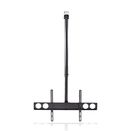 PYLE PCTVM18 - Universal TV Ceiling Mount Bracket with Adjustable Height and Tilt, Fits Virtually All 37.0