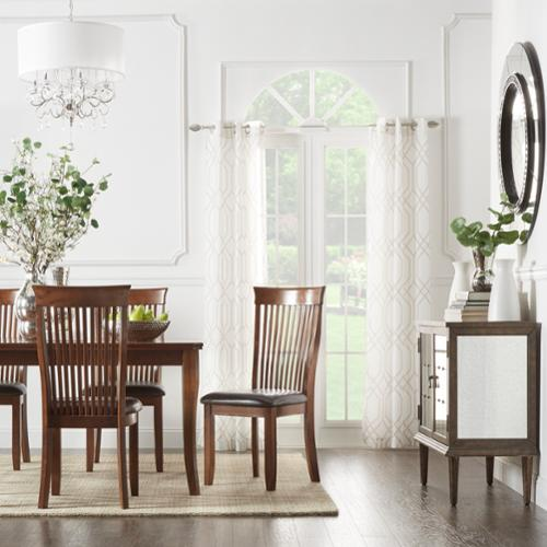 iNSPIRE Q Winsford Burnisd Crry High Back Transitional Dining Chair (Set of 2) by  Classic