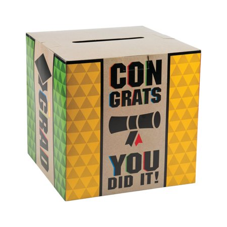Bold Graduation Card Box](Graduation Party Card Box)